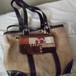 Coach purse and small bag